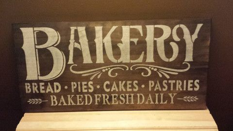 VINTAGE KITCHEN SIGN – Kimber Creations                                                                                                                                                                                 More
