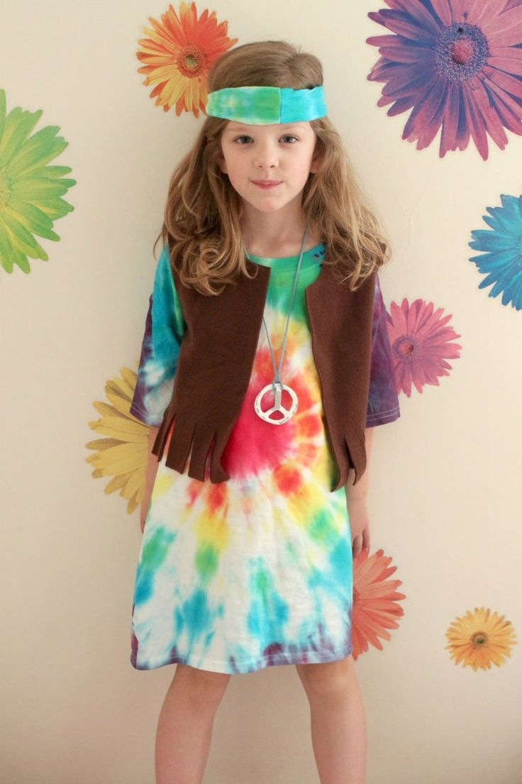 Tutoría disfraz de hippie - Kid's Hippie Costume Tutorial