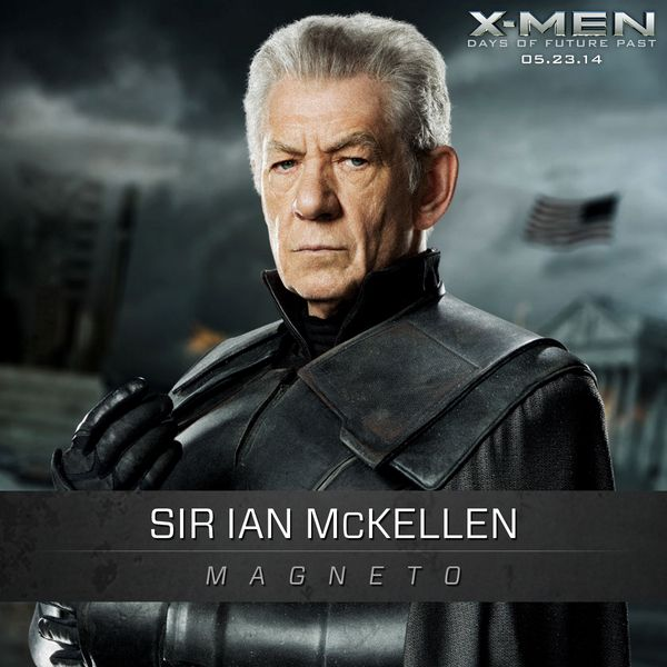 X-MEN: DAYS OF FUTURE PAST - Ian McKellan's Magneto and High Res Photo
