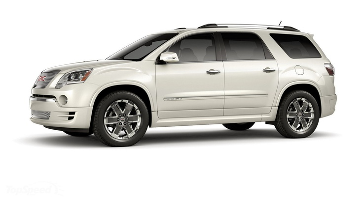 The next mom-mobile.  GMC Acadia Denali