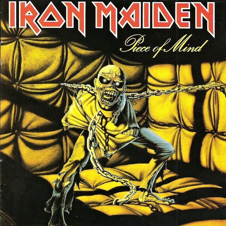 Iron Maiden – Piece Of Mind (1983) Cover by Derek... - Vinyl Artwork