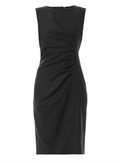 A classic sheath dress for work or evening.