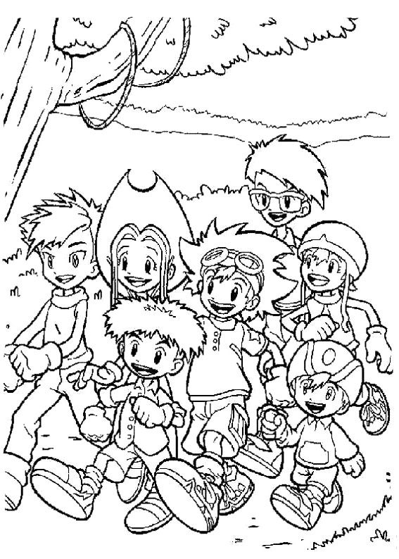 tanemon coloring pages - photo #21