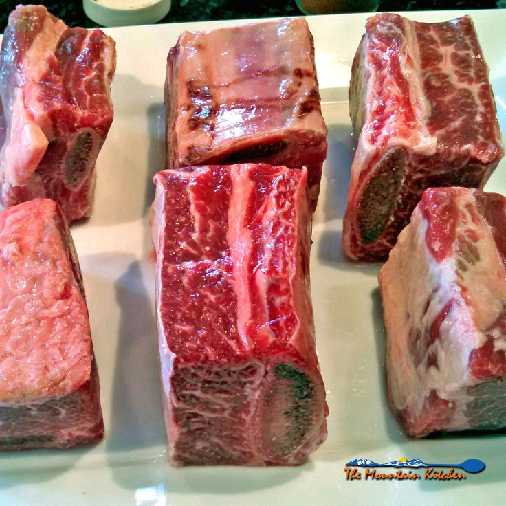 These smoked beef short ribs are rubbed with herbs and spices, then slowly smoked with mesquite wood over indirect heat. They're flavorful and delicious!
