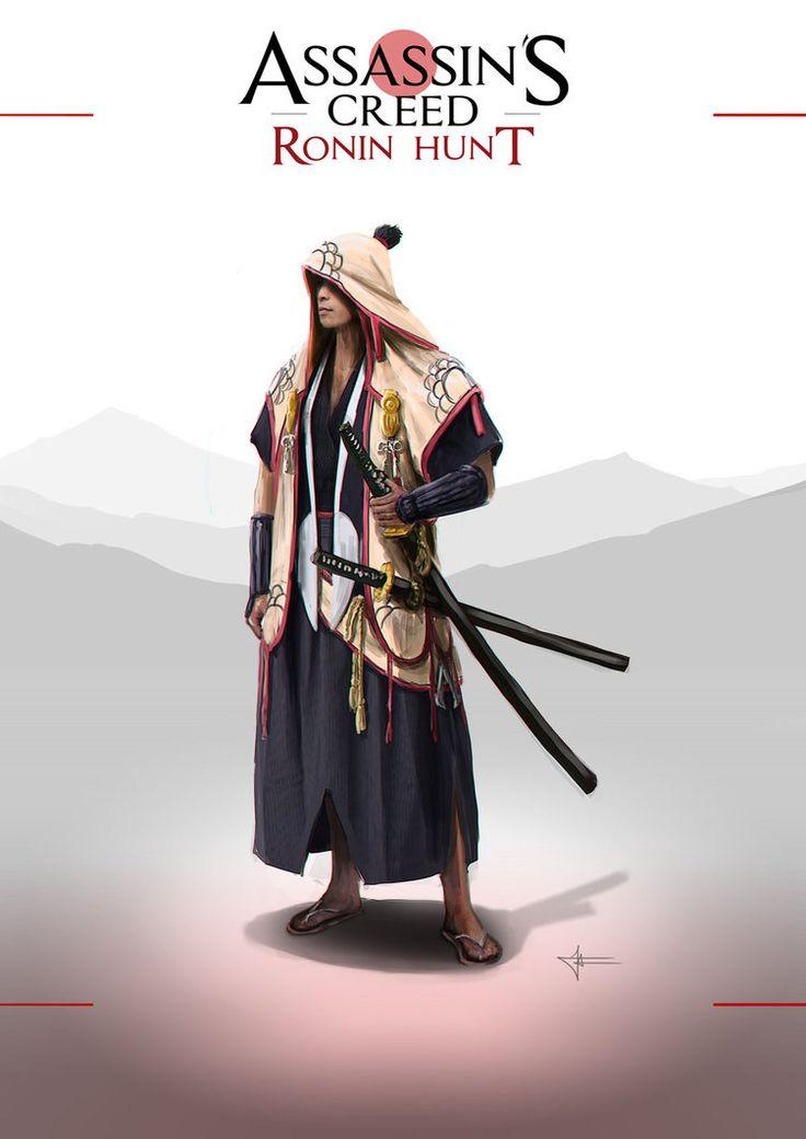 Assassin's Creed Ronin Hunt by F-B-S-Augusto.deviantart.com on @DeviantArt