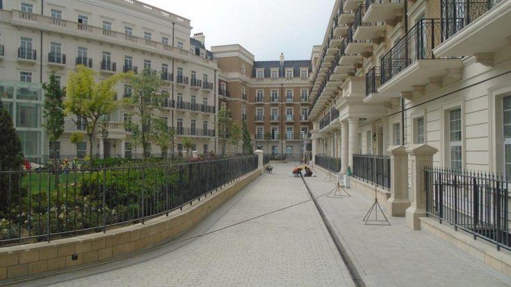 Knightsbridge Residence in Baku, designed by Chapman Taylor