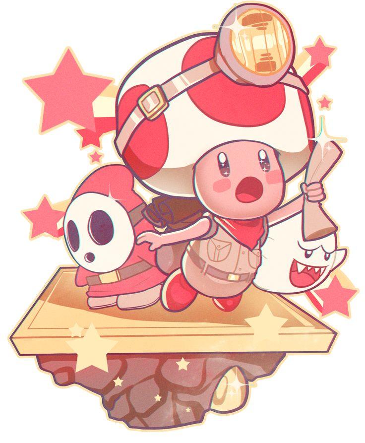 Mario: Captain Toad: Treasure Tracker by Oskar Vega / RaspBeary