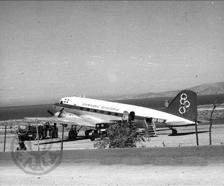 Olympic Airways Douglas C-53B [SX-BBF]
