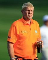 John Daly was once known for his love of alcohol, but when he started dropping weight he turned to Diet Coke, which he is drinking above. The cocktail called the John Daly kept growing in popularity, however.