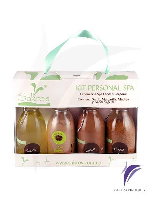 Kit SPA Personal Chocolate x4 de 80ml: Este tratamiento te permitirá disfrutar de todos los beneficios del chocolate para tu piel aportando relajación y bienestar.