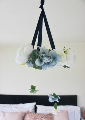 Print and Petal   Floral Mobile