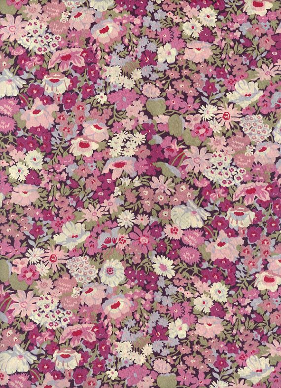 Thorpe in Purple Liberty Fabric Tana Lawn 6 x 26 by MissElany, $4.25