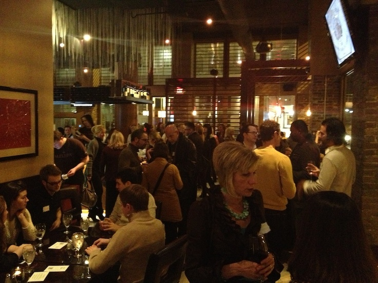 Awesome turnout!  Over 80 people came to our January event at Robust!