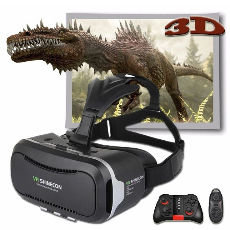 NEW PRODUCT IN STORE.   Shinecon 2.0 VR Pro Version Virtual Reality 3D Glasses    Remote