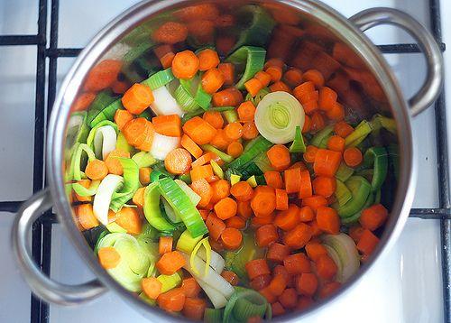 Кокосовый суп из лука-порея | Salatshop ♥ You