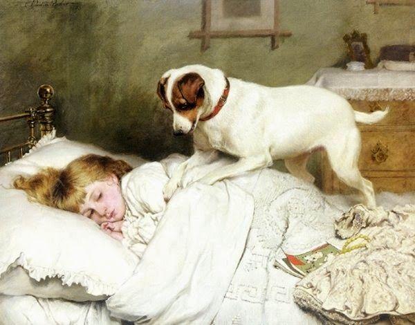 Hora de Acordar - Charles Burton Barber ~ Um dos pintores mais incríveis da Inglaterra