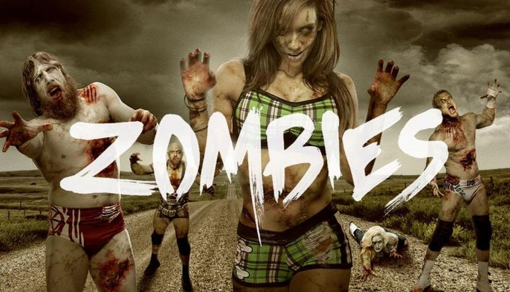 #WWE: ¿Cómo serían las superestrellas de la lucha libre si fueran #zombies? (FOTOS)