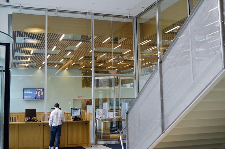 モダンで大きな図書館です。調べものや勉強など色々できそうですね。コロンビア大学の詳しい情報はこちらから! http://www.ilisny.com/columbia