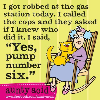 Lets Laugh: Aunty Acid