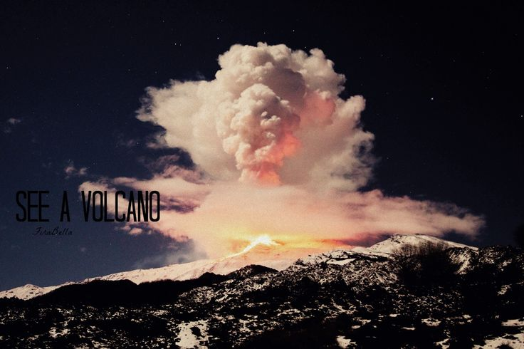 See a Volcano
