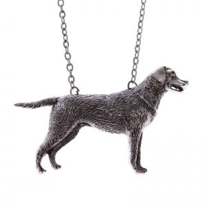 Labrador retriewer dog necklace
