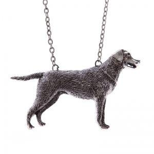 Labrador retriewer dog necklace