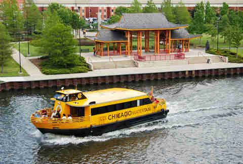 Chinatown water taxi & other outdoors things to do in Chicago