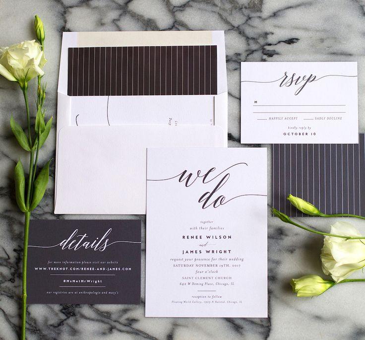 wedding invitations for less than dollar%0A A Peek at Elli u    s Newest Wedding Invitation Suites
