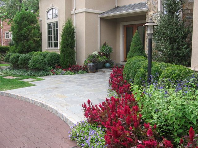 Beautiful Front Entrance Landscaping Ideas Entrance Landscaping Home Design Ideas Pictures Remodel And Decor Front Entry Landscaping Front Yard Landscaping Front Yard Design