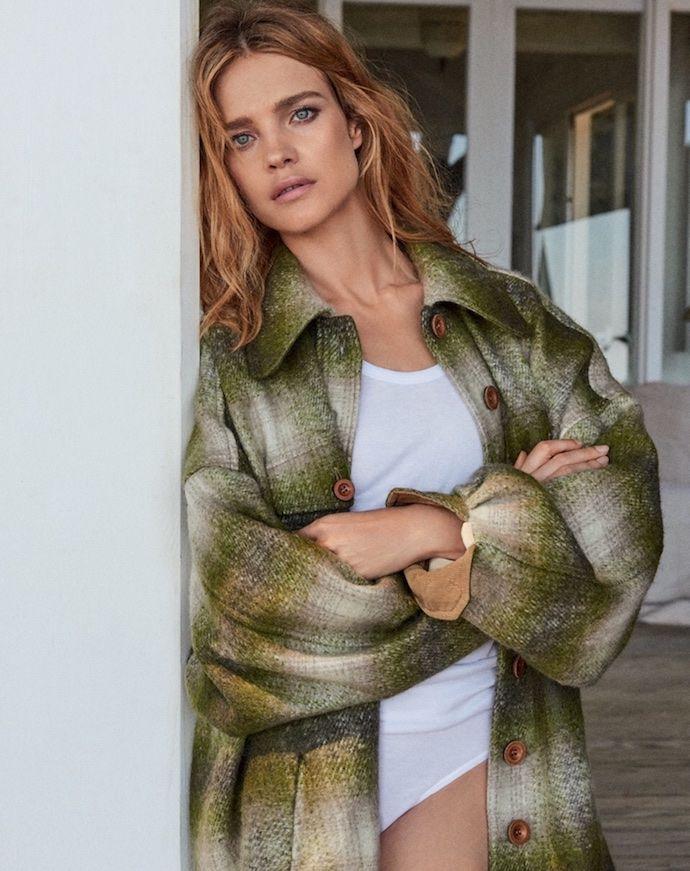 Наталья Водянова примерила осенние тренды в сентябрьском Vogue - журнал о моде Hello style
