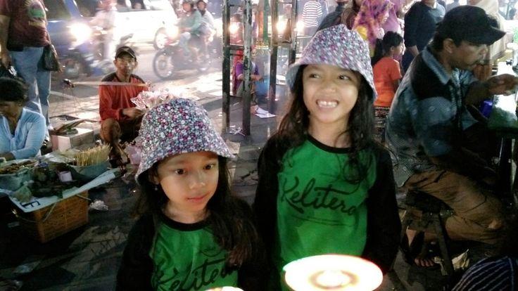 my sisters @malioboro yogyakarta