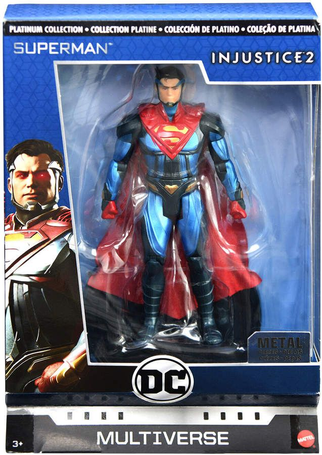 Dc Injustice 2 Super Man Action Figure Action Figures Popular Christmas Toys Injustice