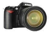 Spiegelreflexkameras: Nikon D3200 SLR-Digitalkamera (24 Megapixel, 7,4 cm (2,9 Zoll) Display, Live View, Full-HD) nur Gehäuse schwarz – Wunder für die Haut Paket Ich habe immer realisiert