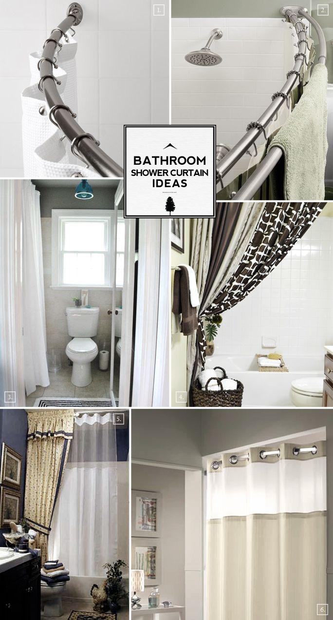 Bathroom shower curtains ideas - Bathroom Shower Curtain Ideas From Space Saving To Decorative Extras