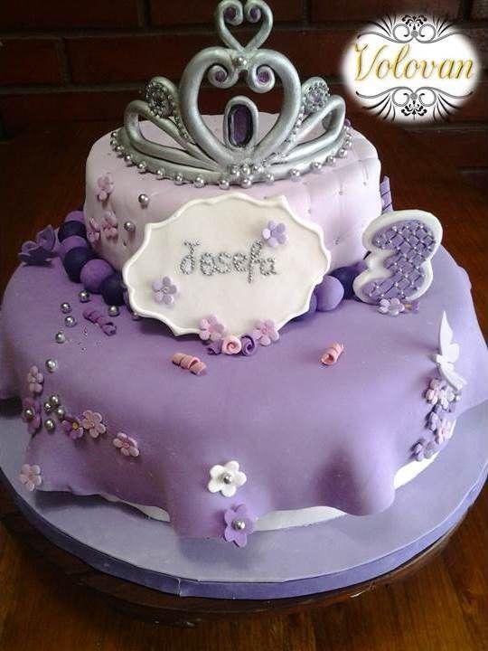 Princesa Sofia Cake - Volovan Productos - Agosto 2014