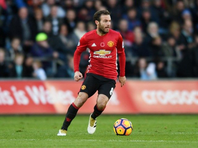 Juan Mata 'available for EFL Cup after flying back from grandfather's funeral'