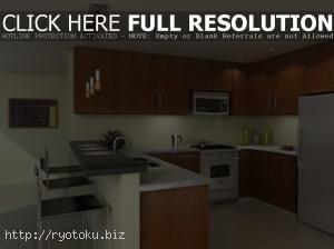desain ruang dapur minimalis modern yang cantik 5 Desain Dapur Modern Dengan Tema Kayu