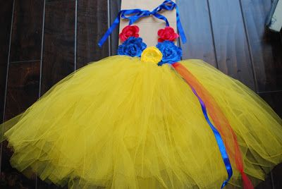 """Julie and I had """"Craft Day 2012"""", which turned into Errand Day 2012. However, we still got one project completed- Snow White inspired costu..."""