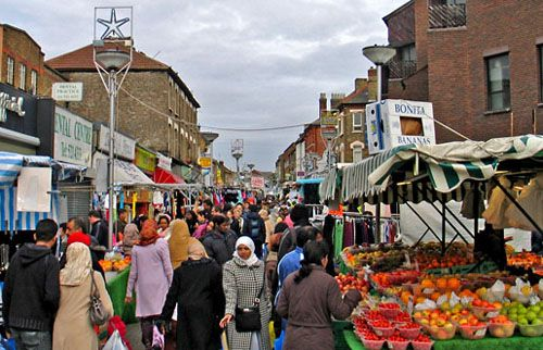 Walthamstow Market is 1 mile long with hundreds of stalls and shops. Is still the longest street market in europe.