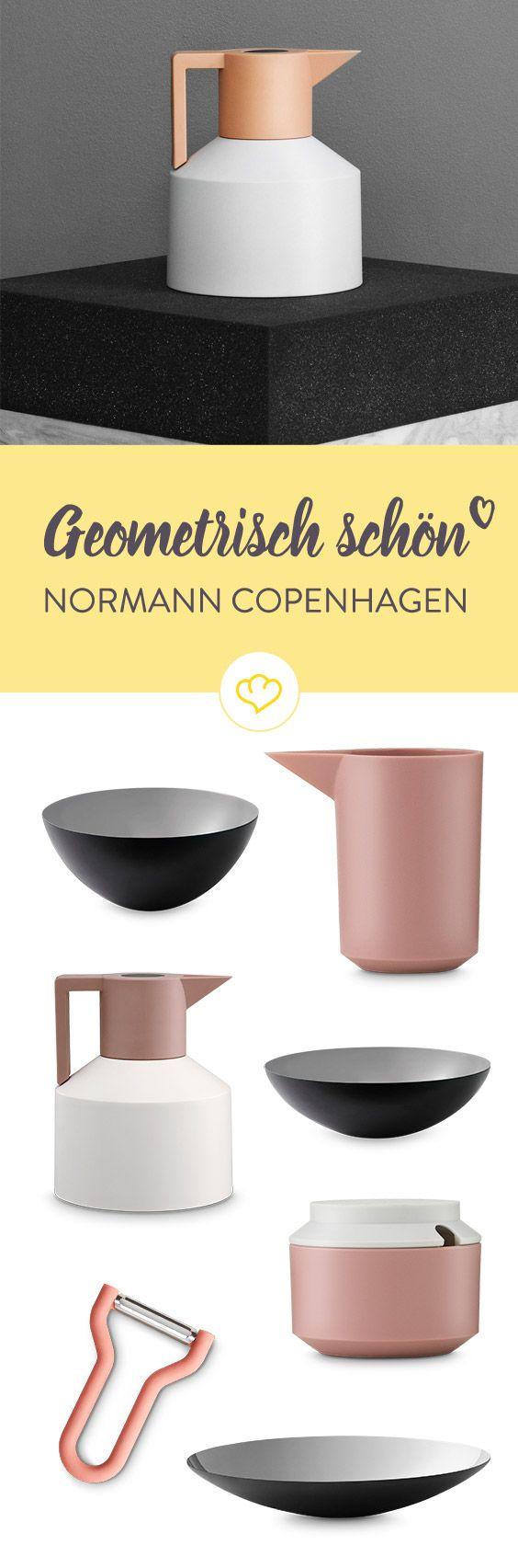 Mit den geometrischen Design von Normann Copenhagen bringst du klare Formen auf deinen Tisch. Schick und funktional werden die Produkte zum Hingucker in deiner Küche.
