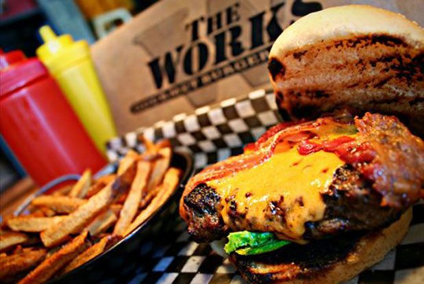 The Works in Ottawa. Delicious burgers!
