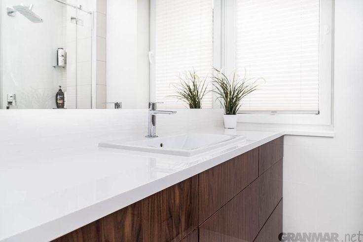 ...i drugi kadr #łazienka #blat #kwarc #Vega #bathroom #top #quartz