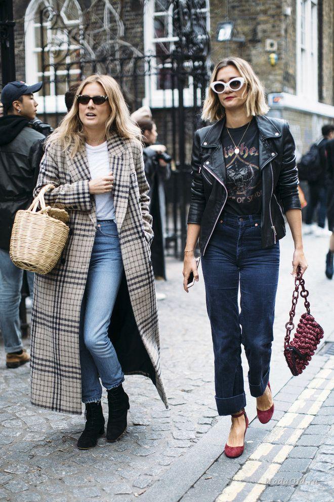 Обзор самых запоминающихся и стильных уличных образов Лондона во время недели моды сезона осень-зима 2017-2018.