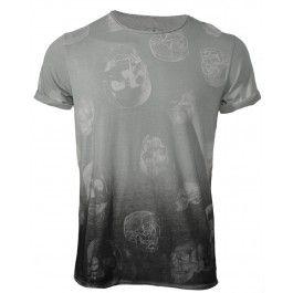 BOLONGARO TREVOR POLKA SKULL TEE - T-shirts - Menswear. It goes with everything.