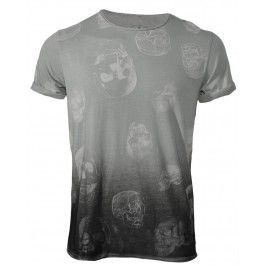 BOLONGARO TREVOR POLKA SKULL TEE - T-shirts - Menswear. It goes with everything.