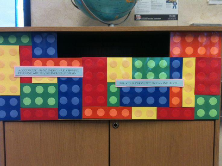Lego Classroom Decor ~ Lego library book drop box pinterest