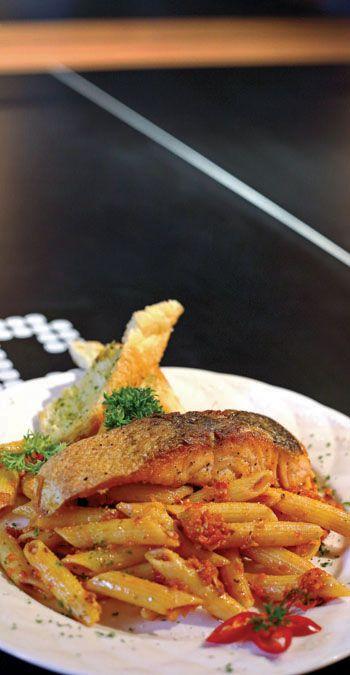 :: Salmon Penne Arabiata from PongMe! :: CLEO.co.id! ::