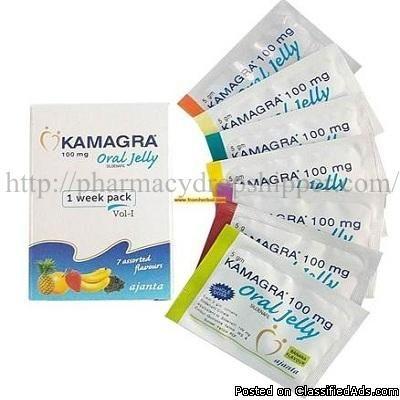 Kamagra Oral Jelly 100mg (Sildenafil) - Classified Ad