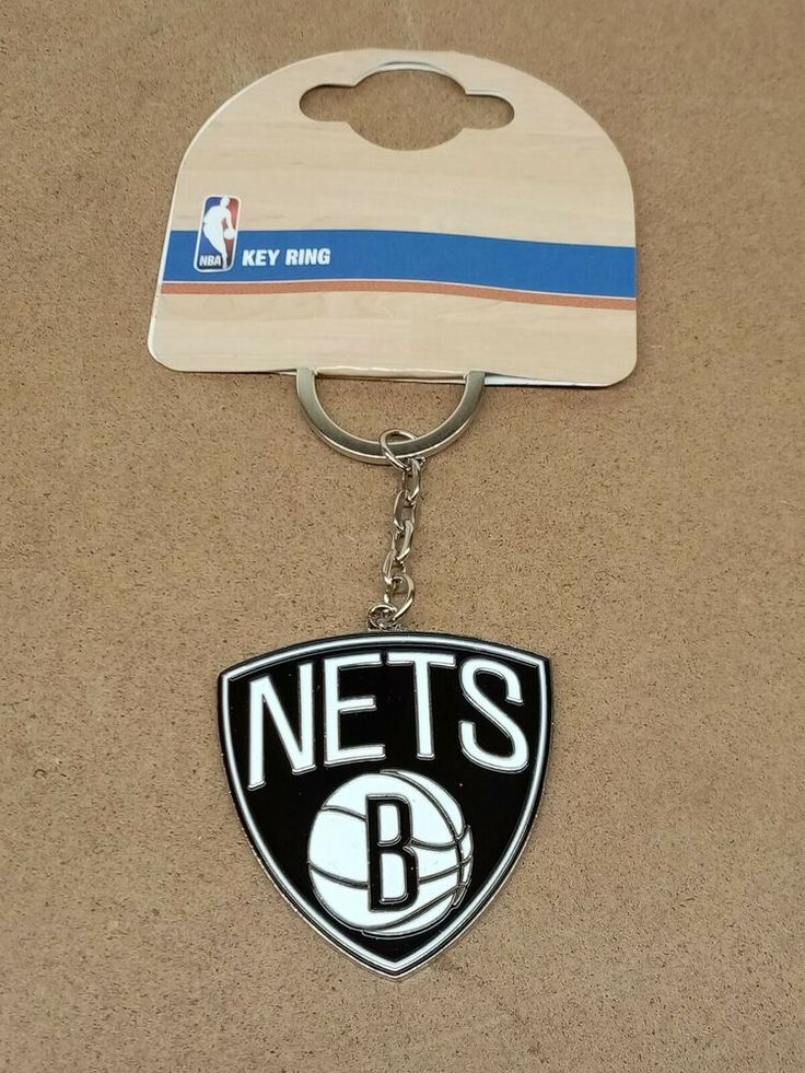 Brooklyn Nets Nba Crest Keyring One Size Brooklyn nets