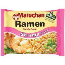 Walmart: Maruchan Shrimp Flavor Ramen Noodle Soup, 3 oz